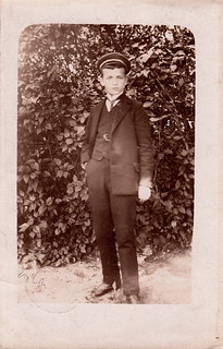 Portrait of Max Trommer on his birthday (1910)