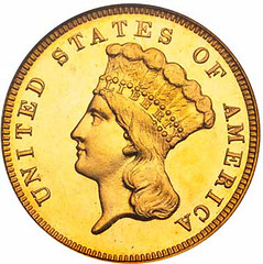 1885 $3 obverse