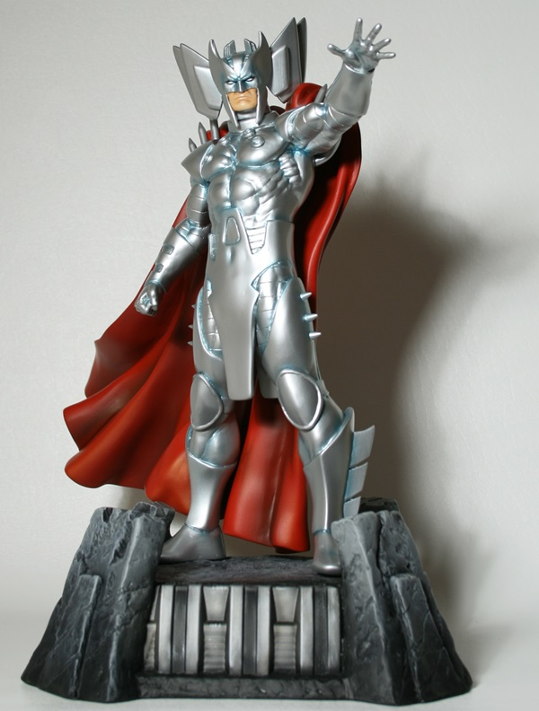 This is the brand new full sized statue of Stryfe, Cable's evil twin!