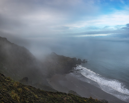 ocean sf california morning sea panorama beach fog landscape photography coast photo nikon day waves voigtlander overcast photograph bayarea 40mm stinsonbeach d800 kevinmacleod voigtlander40mmf20 d800e nikond800e unrangedcom