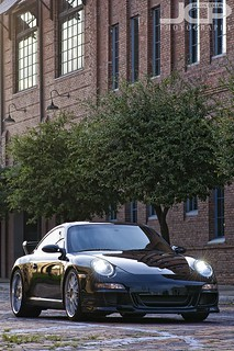 Porsche 911 Carrera custom F77 in black in Tampa Florida