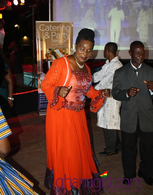 Maame Dokono on the dancing floor