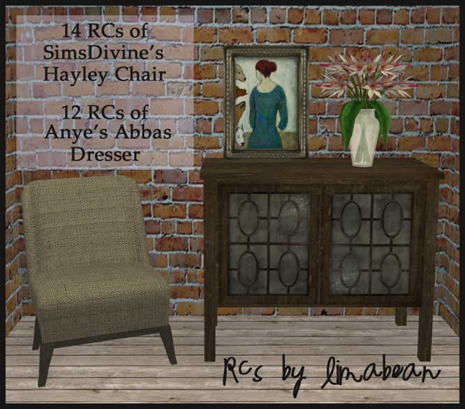 hayley chair & abbas dresser PIC1