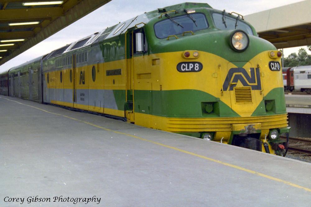 CLP8 at Keswick Railway Terminal by Corey Gibson