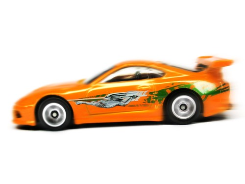 TOYOTA SUPRA HOT WHEELS