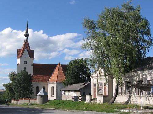 Успенський костел у смт. Скала-Подільська