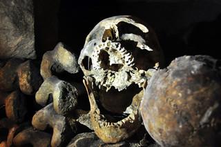Hay piezas que de verdad asustan en el interior catacumbas de parís - 9757222906 83ef45df72 n - Catacumbas de París, donde se guarda la historia de la ciudad.