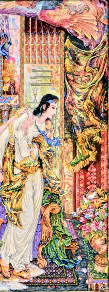 Zuleika & Joseph Farshchian Master Piece Tabriz Persian Tableau Rug