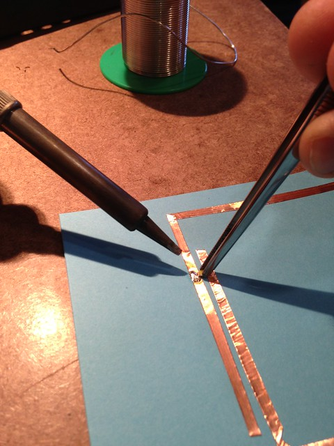 Paper Circuits Solder Tutorial