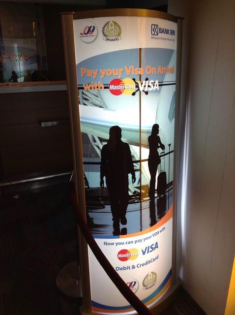 Visa On Arrival, Jakarta T2
