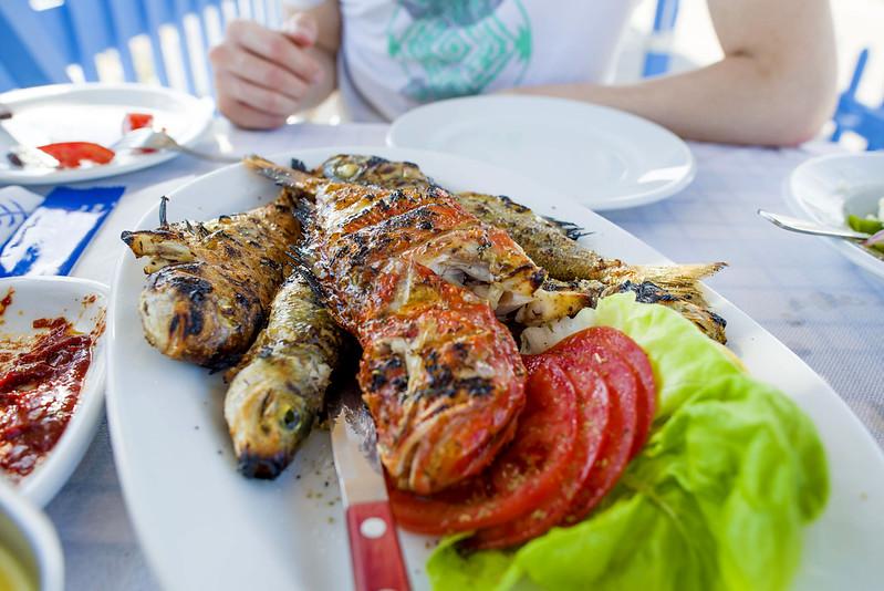 Santorini - Fresh seafood