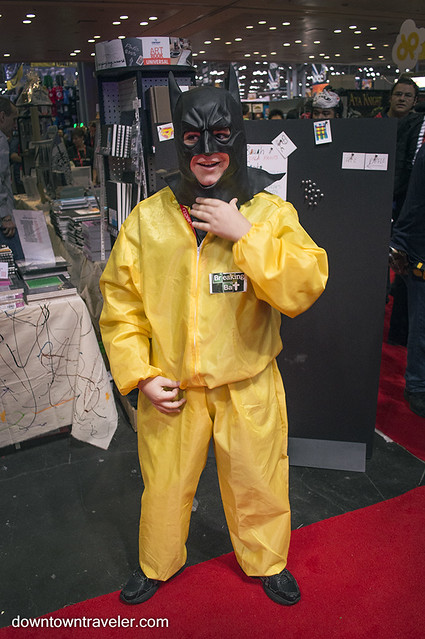 NY Comic Con Kids Costume Breaking Bat