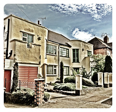 International style Art Deco house,Leicester#artdeco#Leicester#camera+ by davidearlgray