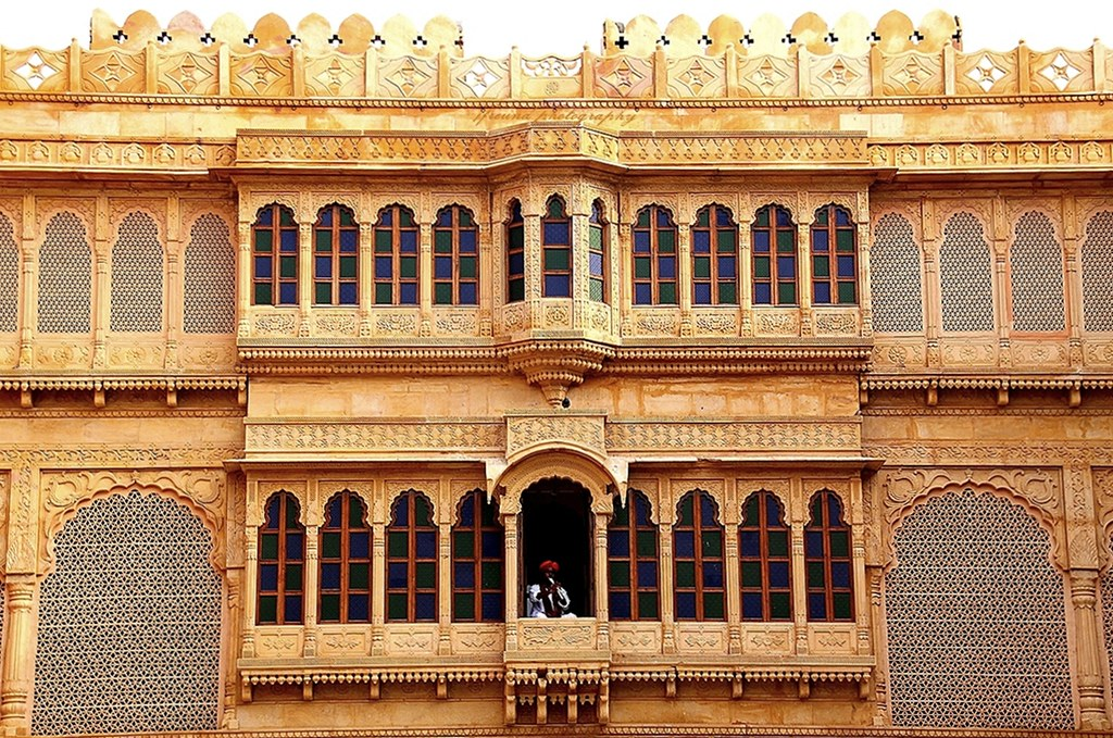 Breakfast at Suryagarh Palace in Jaisalmer, Rajasthan