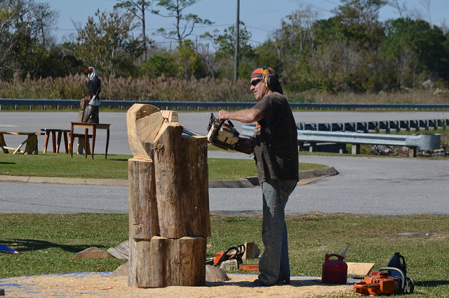 Chainsaw wood carving flickr photo