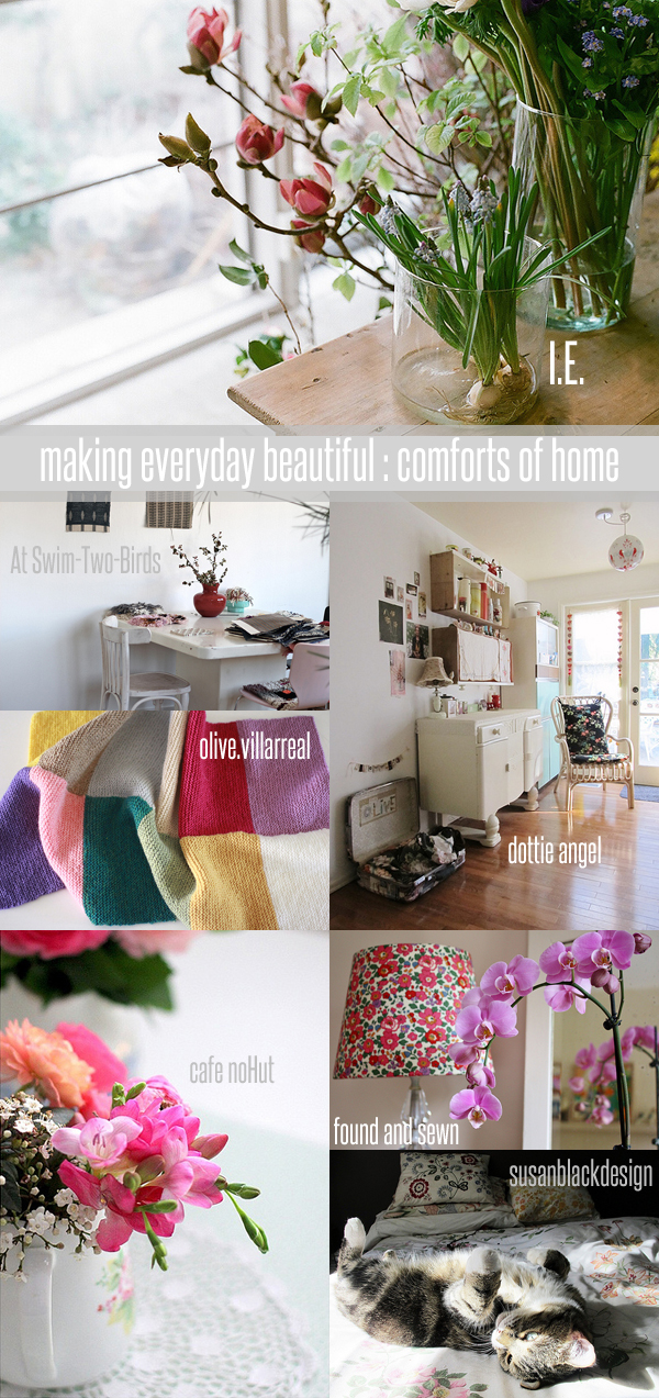 making everyday beautiful : comforts of home | Emma Lamb