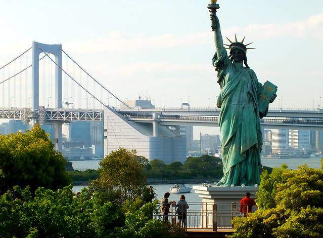visiter tokyo statue-liberte!