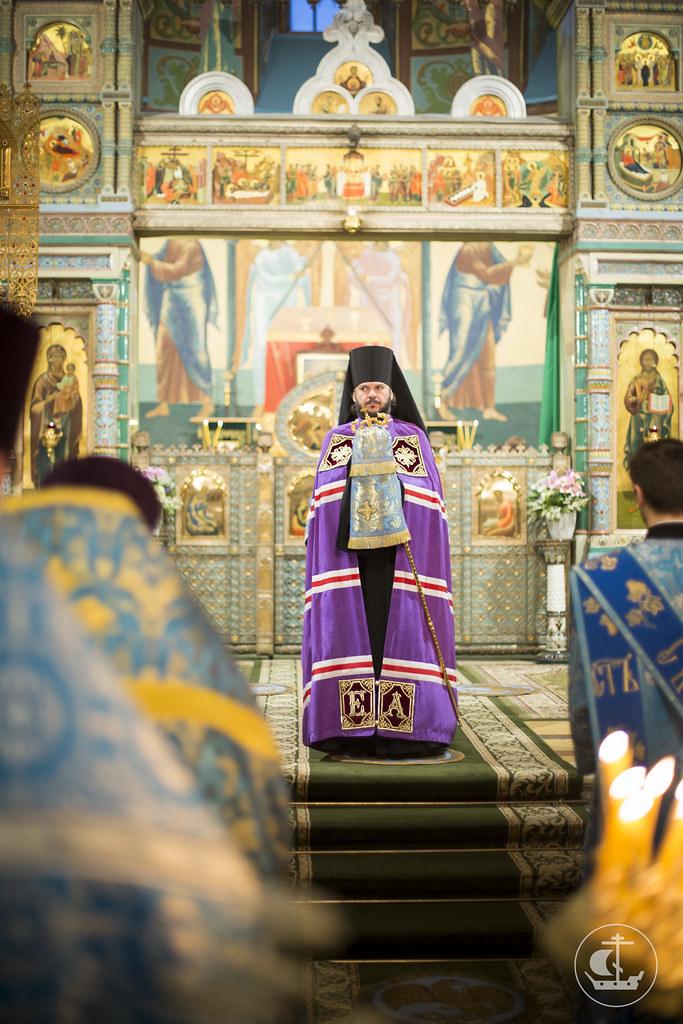 4 ноября 2013, Литургия в Петропавловском соборе г. Петергофа в день Казанской иконы Божией Матери