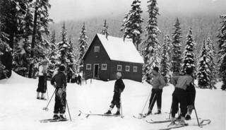 Skiers at Snoqualmie, 1938