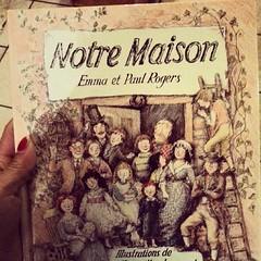 ★ histoire du soir: jolie comme tout ★#livre #book #maison #ourlittlefamily #france #vintage