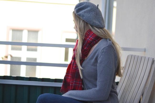 Outfit Schal H&M Tartan (5)