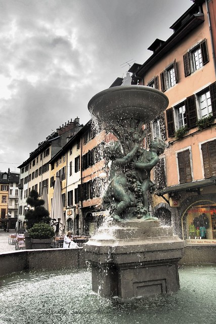 Fontaine des Marmousets- Chambery