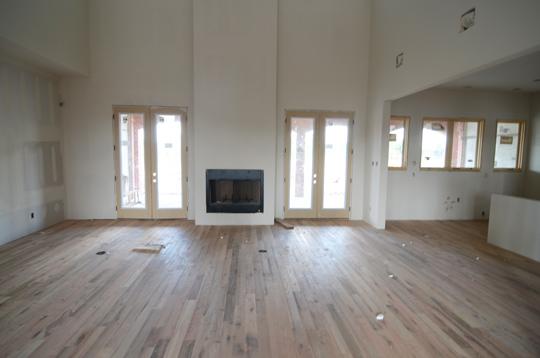 Wood floors complete wills casawills casa for Raw wood flooring