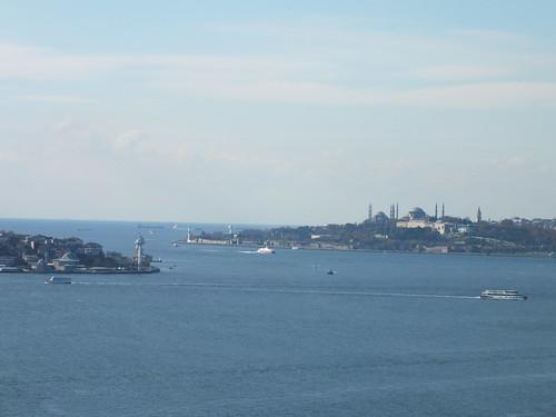 Boszporusz panoráma a Hídról