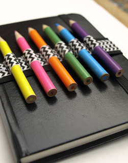 DIY Sketchbook Bandolier
