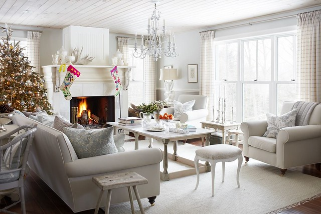 Living After Midnite: Winter White Decorating