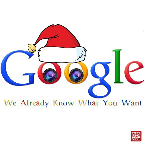 GOOGLE X-MAS by WilliamBanzai7/Colonel Flick