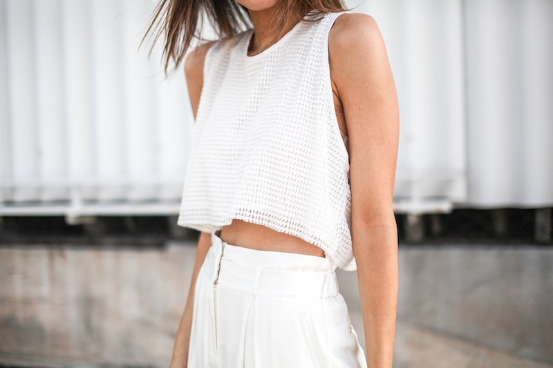 modern legacy fashion style blogger australia sass bide wide leg silk pants faddoul label top zara boyfriend blazer white birkenstocks street style alexander wang rafael bag (10 of 11)