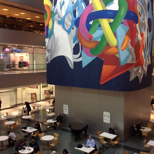 atrium shops and cafes