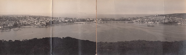 Panorama of Manly from Balgowlah Heights, Sydney (undated)