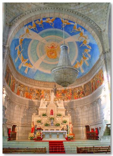 Interior da Igreja de Santa Luzia by VRfoto