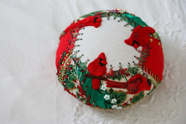 Pincushion finished, side 2