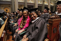 BAIS graduate Jafrah Simmons and friends