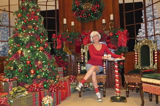 Downtown Disney --- Self Pic For Christmas Card