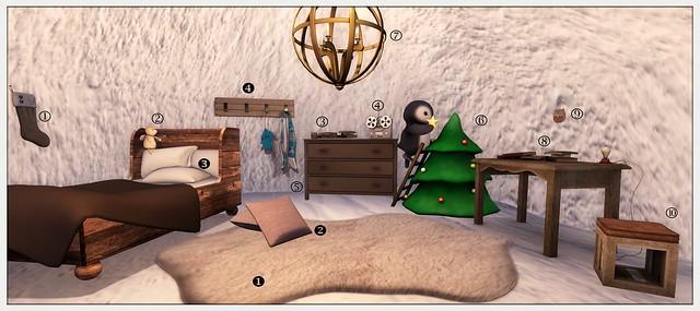 My polar getaway - Interior Details
