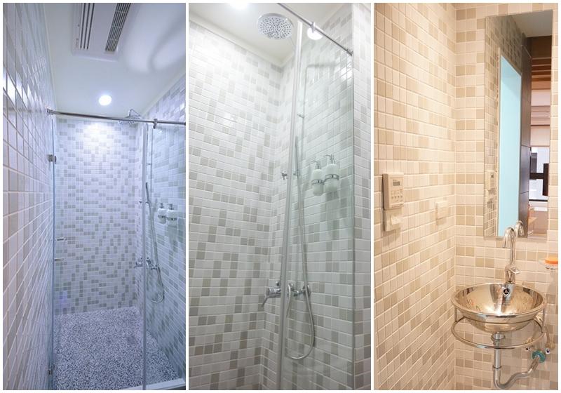 住宅設計-美式LOFT風馬賽克浴室