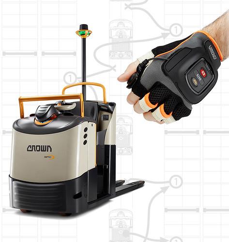 QuickPick Remote is een technologie die in combinatie met de orderverzamelaars uit Crown's GPC 3000-serie toegepast kan worden.