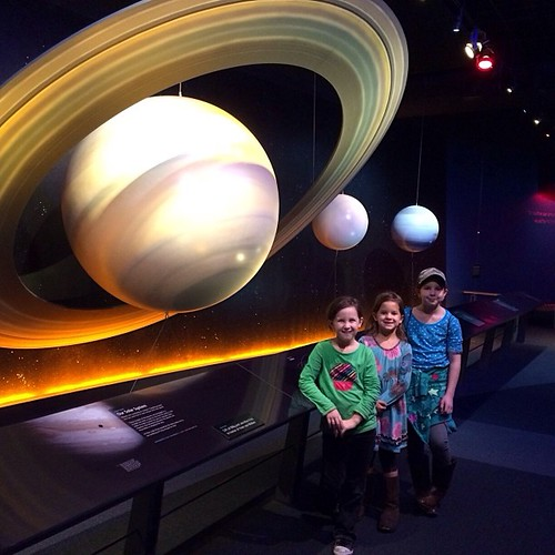 Just hanging out by Saturn. No big deal.