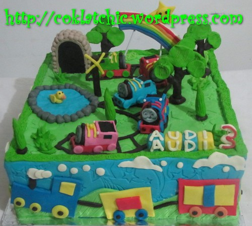 Cake Thomas the Tank Engine