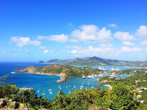 A view to die for. Shirley Heights Lookout, Antigua and Barbuda. AMPt_community AMPt_Nature Sky_collection History