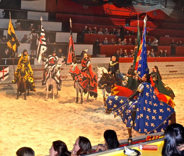 Medieval  Times Orlando Florida- Royal Court