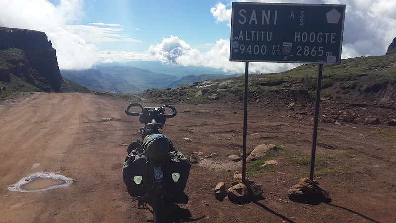 Sani pass sign.