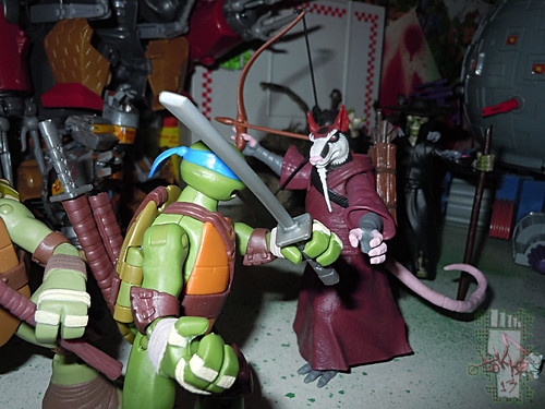Nickelodeon TEENAGE MUTANT NINJA TURTLES :: THE RAT KING { tOkKustom vermin wash } xix / RAT ATTACKS!! (( 2013 ))