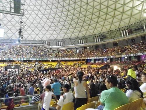 Movistar Arena, Parque O'Higgins, Santiago, Chile 2013 - www.meEncantaViajar.com by javierdoren