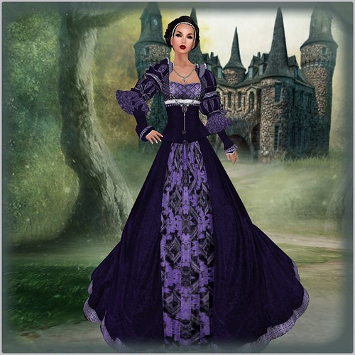 TWA Countess Amelia Gown Set-Group Gift Boxed by Orelana resident