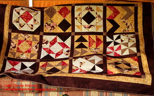 Completed HST BOM quilt